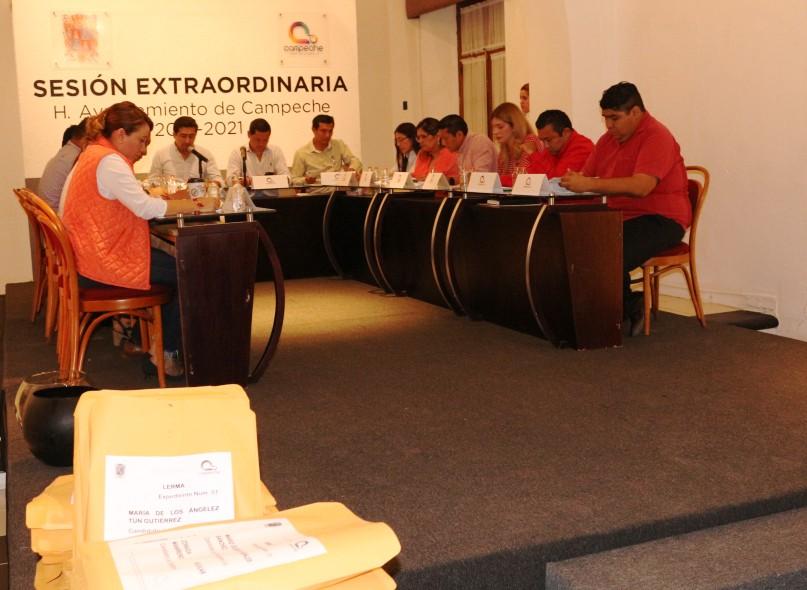 APRUEBAN 35 REGISTROS PARA ELECCIÓN DE COMISARIOS EN III SESIÓN EXTRAORDINARIA DE CABILDO