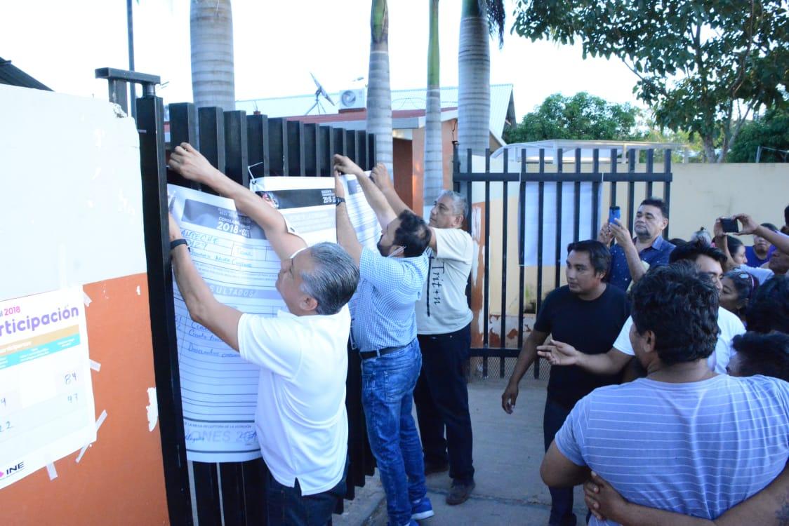 FÓRMULA NEGRA GANA ELECCIÓN DE COMISARIO MUNICIPAL EN TIKINMUL