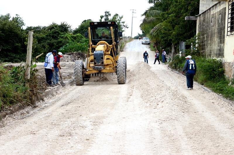PLAN INMEDIATO DE RECONSTRUCCIÓN DE CALLES  Y BACHEO, CALLE AZUFRE