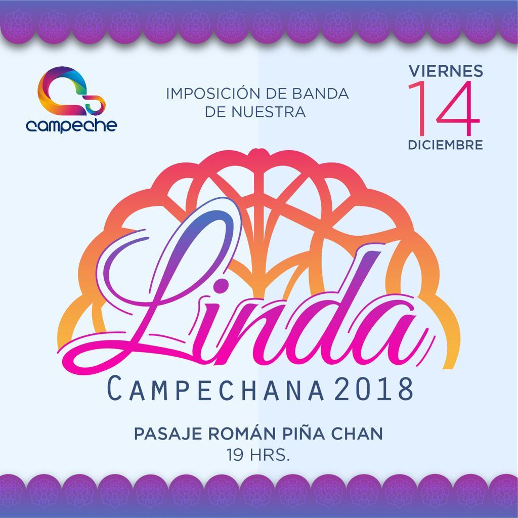 """RECIBIRÁ BANDA DE """"LINDA CAMPECHANA"""" REPRESENTANTE DEL MUNICIPIO"""