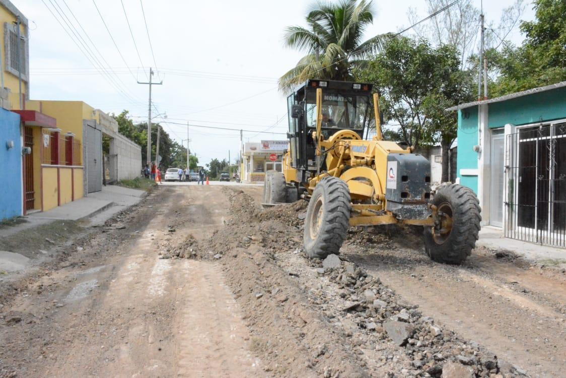 AVANZA PLAN INMEDIATO DE RECONSTRUCCIÓN DE CALLES Y BACHEO